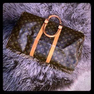 Vintage Louis Vuitton 1984 keepall 45 bandouliere
